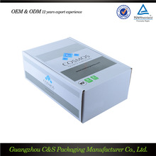 Oem Production Packing Boxes Affordable Price Best Quality Metallic Packaging Box