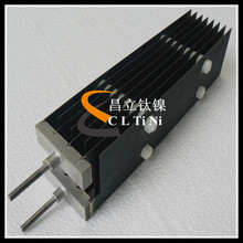 Electrolysis water titanium anode with long life time
