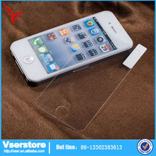 For iPhone 4 phone accessories mobile phone screen protector 2.5D 0.3mm tempered glass film for iPhone 4