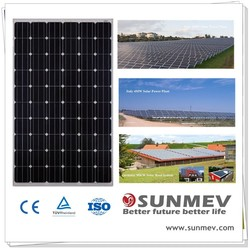 Best price solar panel 260w mono with inmetro certificates from China best supplier