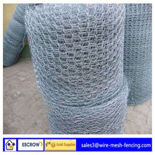hexagonal wire mesh weaving method/hexagonal wire mesh for fencing/twisted wire gabions