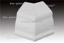 High-quality Plastic PVC K-style 135 degree Outside corner of rainwater collection