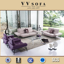 2015 High quality italy leather sofa set design
