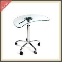 led bar side table ceramic end table glass corner table ST019