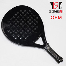 Hot selling carbon fiberglass beach paddle racket 380g 45.5*25.5*3.8cm