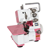 FN10-3D pink color three thread overlock sewing machine price with lamp for home use