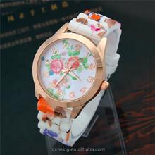 Hot design women big dial watches