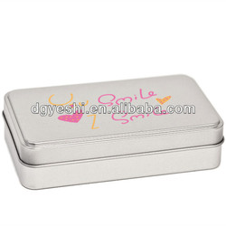 Manufacturer in China Packing Metal boxes for sale, tin boxes