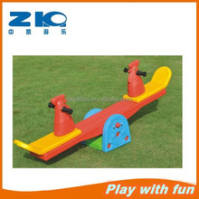New factory price kids mini plastic seesaw