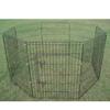 Wire Metal Fence Pet Cat / Dog Wire Metal Playpen