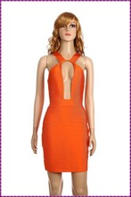 latest design top sale backless party club night fashion sexy open breast dress
