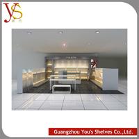 2015 new design Multifunctional Modern Metal wood shoe wall display