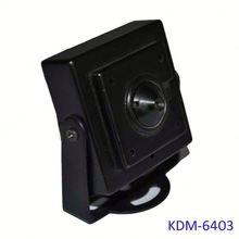Pinhole Lens Hidden hidden camera microphone with Mini Size of 35*35*15MM (700TVL, 600TVL, 420TVL)