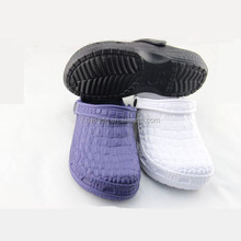 2015 fashion design men hospital nursing shoes clog