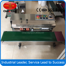 FRD-1000W aluminum foil bag continuous band sealer with ink coder