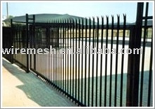 D type palisade rail fence
