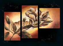Modern Abstract Flower Decorative Oil Painting On Canvas