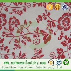 Printing also can do the embroidery pattern design of non-woven fabrics