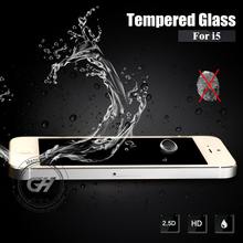 for iphone 5 9H hardness tempered glass screen protector