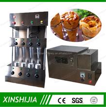 Venda quente mini aço inoxidável cone pizza que faz a máquina( skype: xinshijia. Jessica)