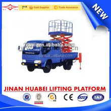 vehicle mounted elevating platform with CE & Made in China truck mounted lift platform