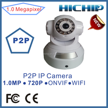 Robot telecamera ip wireless 720p h. 264 a due vie audio senza fili facile da installare p2p ip telecamera hd wireless web ir telecamera di sicurezza