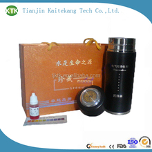 Best Price New Arrival stainless steel flask/alkaline energy cup/produce alkaline water bottle from China Manufacturer