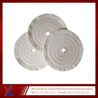 Factory Direct Sales cotton buffing wheel for stainless steel
