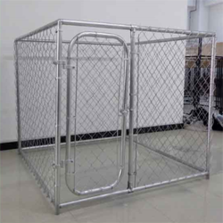 Alibaba high security large chain link dog kennel/made in China dog kennel