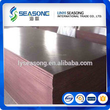 18mm construction use poplar core wbp glue brown shuttering film faced plywood