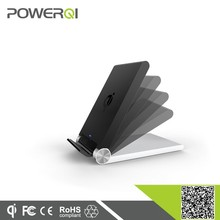 2015 New arrival Qi wireless folding charger 3 coils wireless charger(T-310)