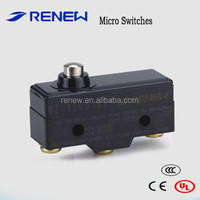 RZ-15GD-B3 short spring plunger type microswitch/micro switch on off/burgess micro switch