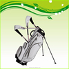 white custom make Japan junior stand golf bag