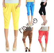 2012 Spring new short harem pants/women casual trousers 5colors 3728