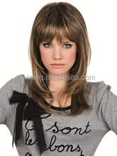 Good sell Long Long layered With Subtle fringe Wig about 16""