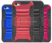 various colors for choice belt clip holster combo case for Iphone5S