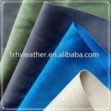 Microfibra de camurça tecido camurça sintética tecido para estofamento de sofá DH322