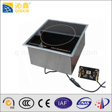 Fast food food machinery of electric bbq grill with hot pot