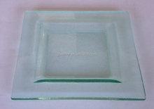 Square Glass Plate transparent glass switch transparent glass