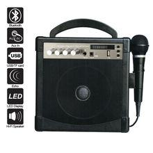Plus petit bluetooth haut - parleur actif 2.1 en bois haut - parleur boxportable mégaphone