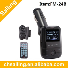 Wireless Car FM Transmitters for galaxy s4 support USB/SD/MMC Card