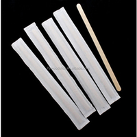 sterile individually wrapped coffee stirrers flavored wooden sugar coffee stirrers