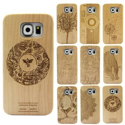 2015 New cell phone accessory,engraved wood case wholesale cell phone accessories for samsung galaxy s6