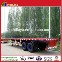 Widely Used Heavy Transport Tractor Trailer/ Container Trailer With Flatbed&Skeleton Type