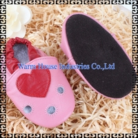 0-24 Months Soft Leather Sole Baby Shoes Leather