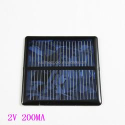 Toy motor accessories Polysilicon plate 2V 200MA solar panel