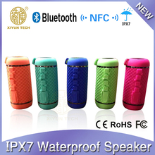 5W x 2 NFC waterproof bluetooth stereo shower speaker with AUX/Mic