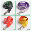 Hot sale promotion woven lanyard/Polyester lanyards no minimum order/free sample