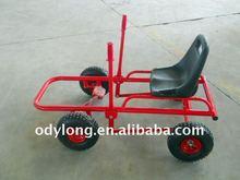 Manual Assemble Moon Cart , Pedal Go Kart for Kids