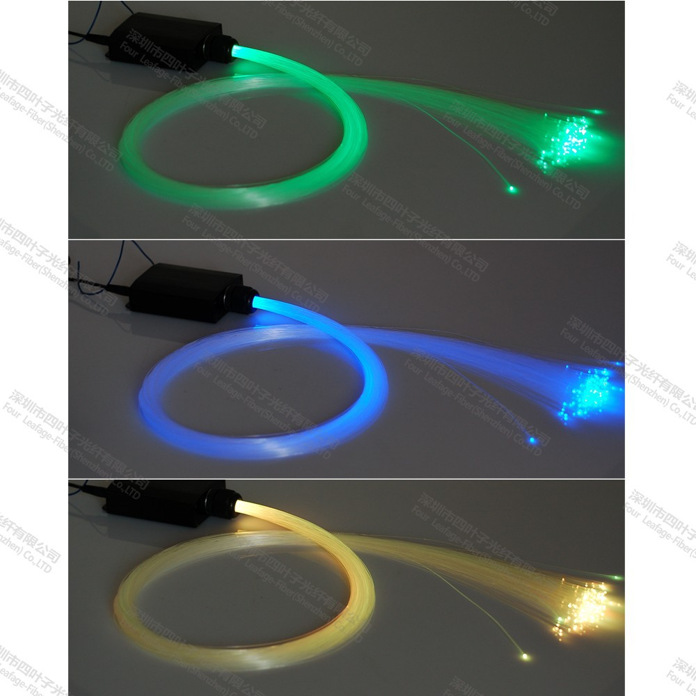 Car Ceiling Led Lights Stars : V car roof star ceiling spot fiber optic light kits with